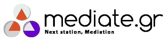 Mediate.gr - Logo Light